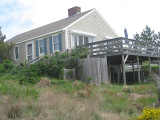 Waterfront Cape Cod Bay Beach House  in Truro
