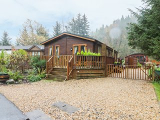 PINE TREE LODGE, open plan living, WiFi, en-suite, Ref 967770
