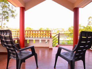 COORG GIRINIVAS-TWO BEDROOM DELUXE HOME-BALCONY-VIEW-FREE WI-FI