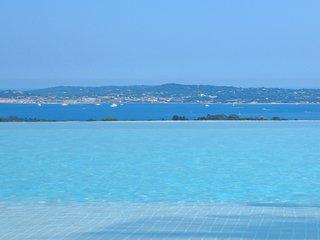 Villa haut de gamme 10 personnes - Vue Golfe de St Tropez - Grimaud