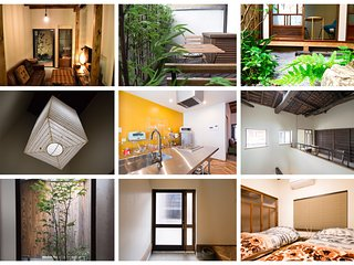 Your Pavilion in West Shijo - 3BR Vacation Home w/island kitchen & JP garden