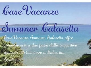 CaseVacanze Summer Calasetta Blue