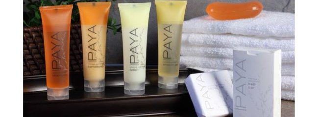 Let us spoil you with organic amenities.