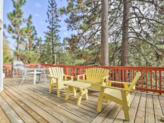 NEW! Lake Arrowhead 3BR Home w/Deck & Forest View!