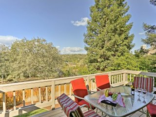 NEW! 3BR Redding House w/Deck & Scenic River View!