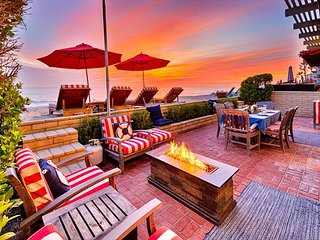 25% OFF OPEN JAN! Beach Front Home w/ Private Jacuzzi & Unparalleled Views