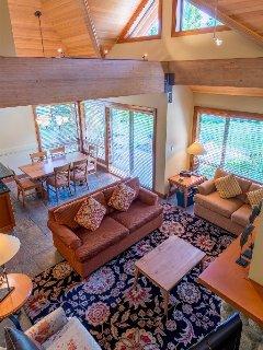 Elegant Living Area with Large Windows
