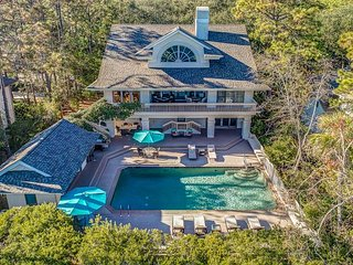 162 Mooring Buoy - Spectacular One Of A Kind Home in Palmetto Dunes!