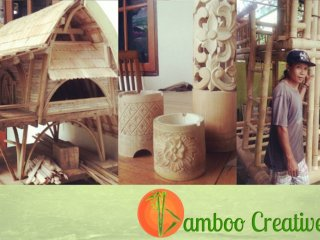 Bamboo Tiny House Project and Bottle Bricks Bali Project