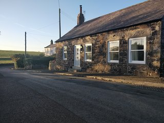WEST END COTTAGE - Luxury Romantic Northumbrian Coastal Self Catering Cottage
