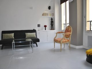 LARGE & BRIGHT FLAT WITH NICE COURTYARD-LE MARAIS