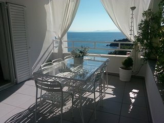 breathtaking  sea views, stunning 3 bedroomed villa in exclusive area