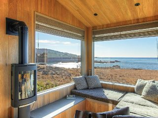 Luxury oceanfront home w/ private beach, sauna, stunning views & shared pool!
