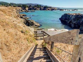 Luxury oceanfront home w/ private beach, sauna, stunning views & shared pool!