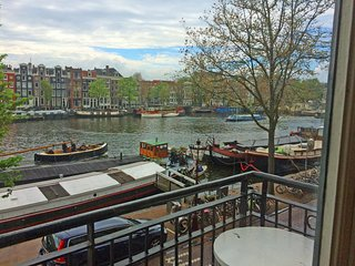 Amstel Canal View with 2 bathroom
