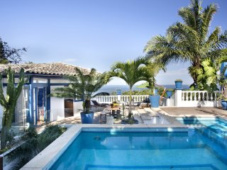 Rio024-Iconic villa designed by Elis Regina in Sao Conrado with private pool