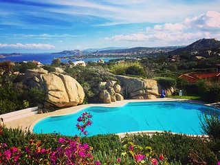 COTTAGE SMERALDA-5pax w/Pool Terrace Seaview by KlabHouse