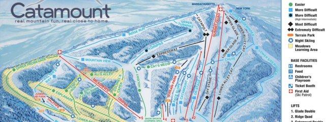 Minutes to Catamount Ski Area