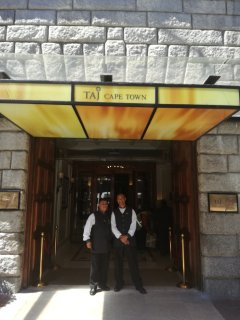Entrance of TAJ hotel