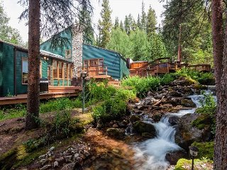 Creekside Chateau Home Hot Tub Breckenridge Colorado Vacation Rental