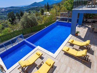 Villa Oz Seaview is secluded 2 bedroom villa with private pool in Kalkan