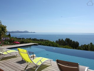 Encarna 211020 villa with 6 bedrooms, heated infinity pool, panoramic sea view