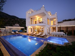 Secluded 6 Bedroom Villa in Kalkan with Private Pool and Seaview