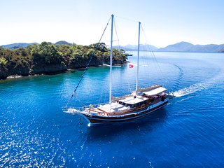 Sirena E gulet available for private charter in Croatia,Split or Dubrovnik.