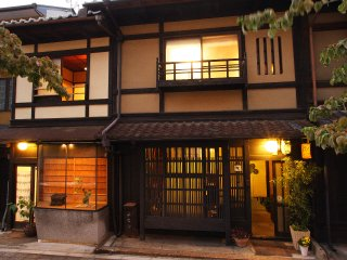 Traditional Kyoto style townhouse