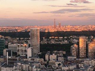 Apartment view Paris & Eiffel Tower near U Arena