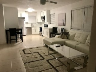 Just remolded 2/2 close to airport, beach and downtown areas