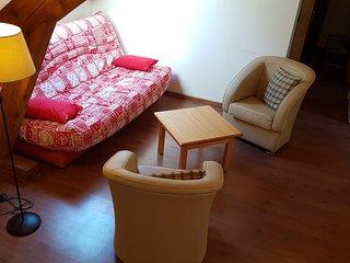 Apartamento ecologico en Cauterets de 2 habitaciones para 8 personnas con WIFI