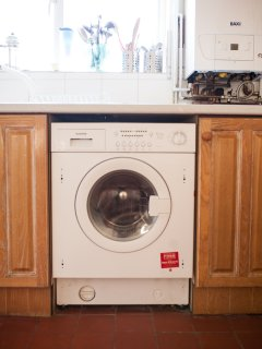 Washing machine with tumble dryear and new boiler in 2017