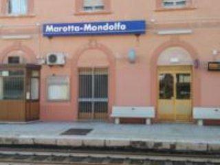 Station 50 meters.