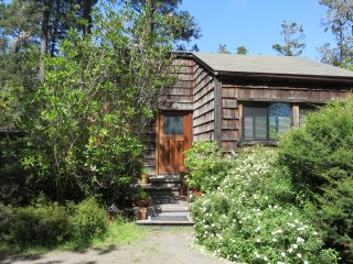 Caspar Cottage Walk to Waterfall in the Redwoods Charming Mendocino rental