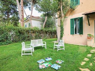 107 Santa Severa Villa 5 min from the beach Wi Fi Garden BBQ Airco