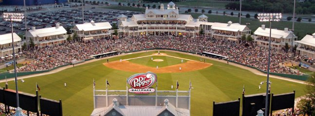 Dr. Pepper BallPark home of the Frisco Rough Riders