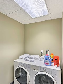 Keep your wardrobe fresh in the laundry room!