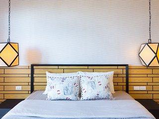 Summer HuaHin Condominium_EAF:Two Bedrooms Apartment, GardenView
