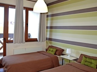 Neon Gondola Lift Apartments A10