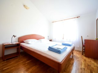 Deluxe two bedroom apartment, for 4 persons. 100 square meter terrace.