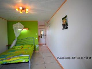 la chambre et son bel espace