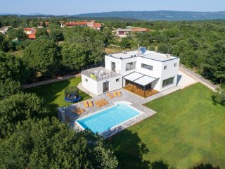 Villa Danica is new modern vila on the edge of village Belavici in Istria