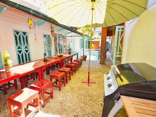 Romantic Bbq Pool - 5 minutes Walking street/beach