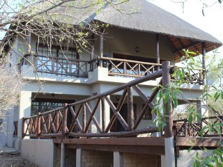Experience luxury living in the bush where you can see right into Kruger Park