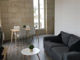 Très joli T2 de 45 m2, rénové dans immeuble pierre