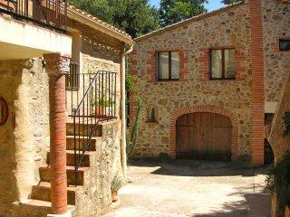 El Portal - Granados, appartement pour deux personnes dans un mas catalan