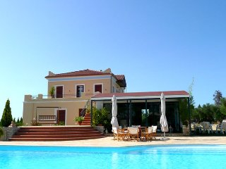 Luxury Villa with Private Pool, 35000m2 Mediterranean gardens and tennis court.