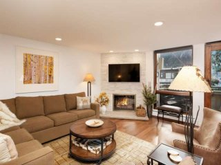 Amazing Aspen Mountain Views. Downtown Aspen. Elevator, Garage Parking, Gas Fire