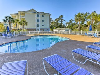 Roomy Myrtle Beach Condo w/ Patio & On-Site Pool!